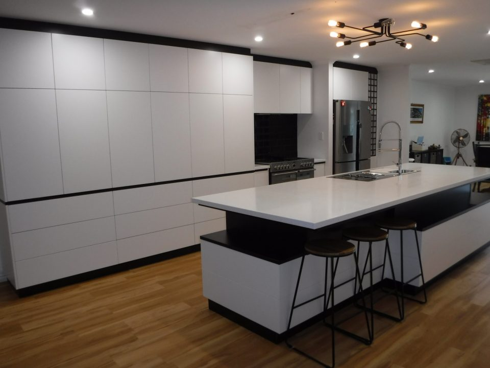 Galley Kitchen packed with Style, Function, Storage with a HUGE custom island! - Northam, WA